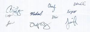 OIP signatures